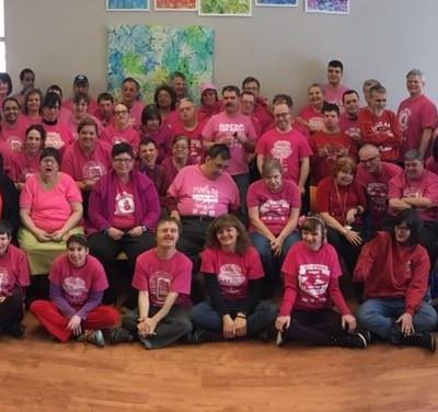 Pink Shirt Day at KW Habilitation