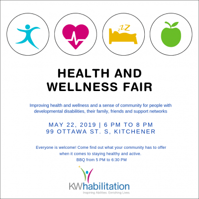 Join Us for KW Habilitation's Health and Wellness Fair